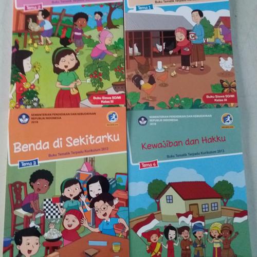 Foto Produk Paket Buku Tematik SD kelas.3 kurikulum 2013 Edisi Revisi 2018 dari Giri Pustaka