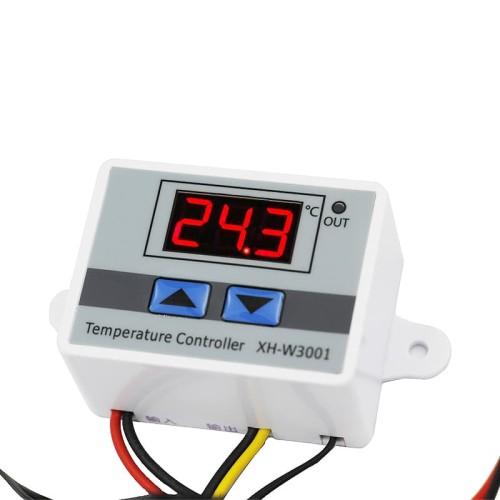 Foto Produk W3001 Thermostat Digital Temperature Termostat Suhu Panas Dingin dari lapakdiskon