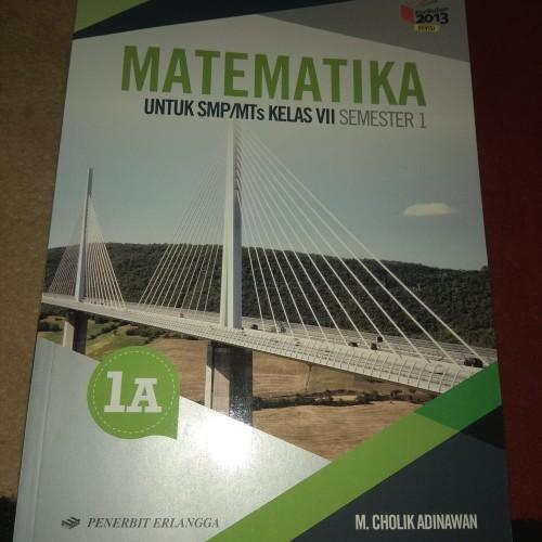 Foto Produk MATEMATIKA 1A KELAS 7 SMP PENERBIT ERLANGGA KURIKULUM 2013 SEMESTER 1 dari Toko Buku Lestari