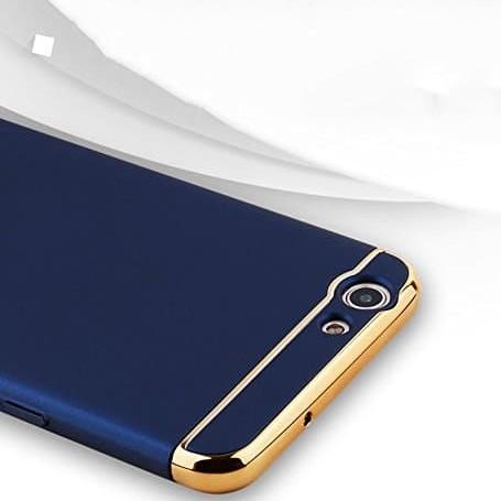 Foto Produk Oppo F1s 3 in 1 Hardcase PC / electroplating case / chrome case dari importking