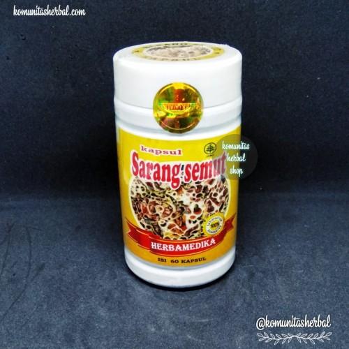 Foto Produk Kapsul Sarang Semut 60 dari KOMUNITAS HERBAL SHOP
