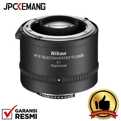 Foto Produk Nikon AF-S Teleconverter TC-20E III GARANSI RESMI dari JPCKemang