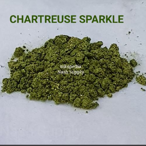 Foto Produk Mica Chartreuse Sparkle (U-makeitup) dari Nash Supply