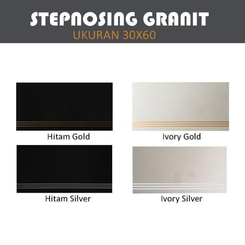Foto Produk Stepnosing Tangga Granit / Step Nosing Anti Slip Garis Eksklusif 30x60 dari serisaito