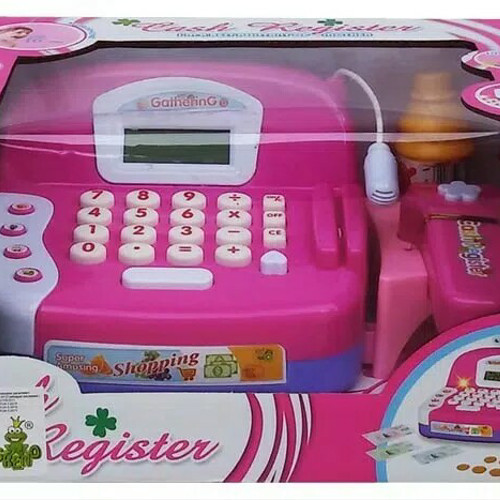 Foto Produk MAINAN ANAK KASIR CASH REGISTER dari nambeng toys