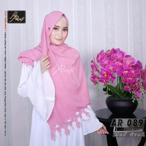 Jual Hijab Ar Rafi Ar 089 Pashmina Murah Pashmina Terbaru Med Tosca Banyumanik Nazma Hijab Tokopedia