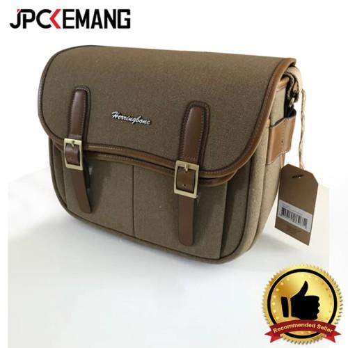 Foto Produk HerringBone Maniere Large Khaki dari JPCKemang