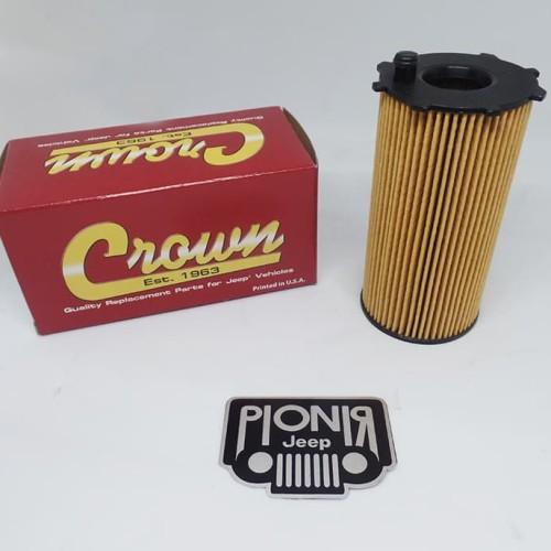Foto Produk Saringan Oli JK 2.8/ Oil Filter Crown For Jeep JK Diesel 2.8cc Ori USA dari PIONIR JEEP