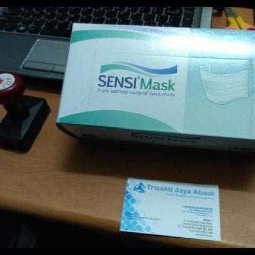 Foto Produk New Sale Masker Wajah Mulut Sensi Mask 3Ply Berkualitas Grosiran dari Jaela Store.ID