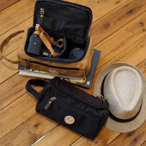 Foto Produk Tas Kamera Sling Bag Pouch Camera Mirrorless - Firefly Ingvar Black dari Mirakel Shop