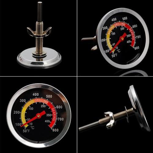 Foto Produk Bimetal Thermometer 10-400C Oven Food Termometer Frying Analog Jarum dari HRDIK