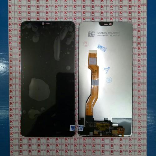 Foto Produk LCD + TOUCHSCREEN OPPO F7 COMPLETE ORIGINAL - Hitam dari KING sparepart