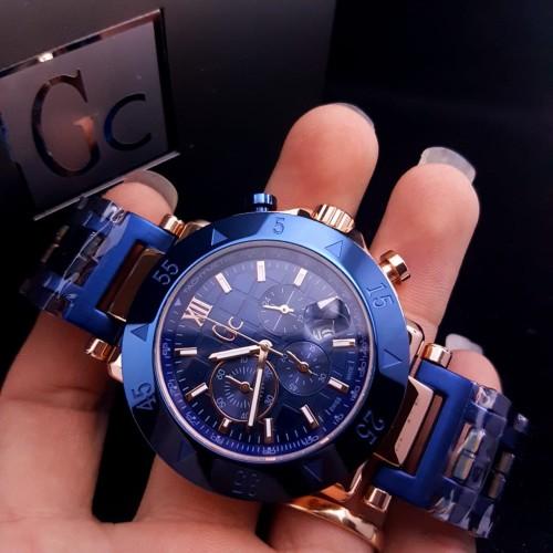 Foto Produk Jam Tangan Pria Gc Watches Gc-1 Sport Metal X90012G7S ROSE BLUE Steel dari Oniomania