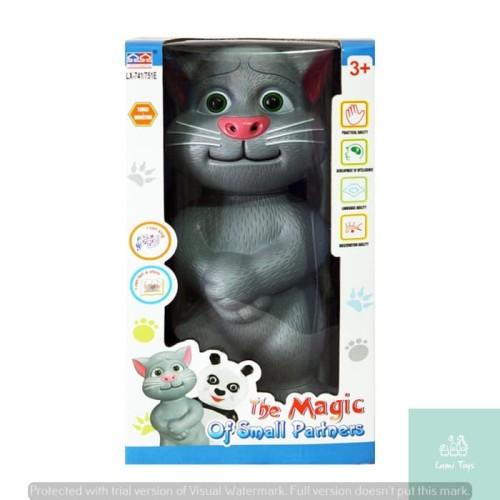 Foto Produk Lumi Toys Robot Kucing Talking Tom Cat FREE BATERAI AA 3 pcs dari Lumi Toys