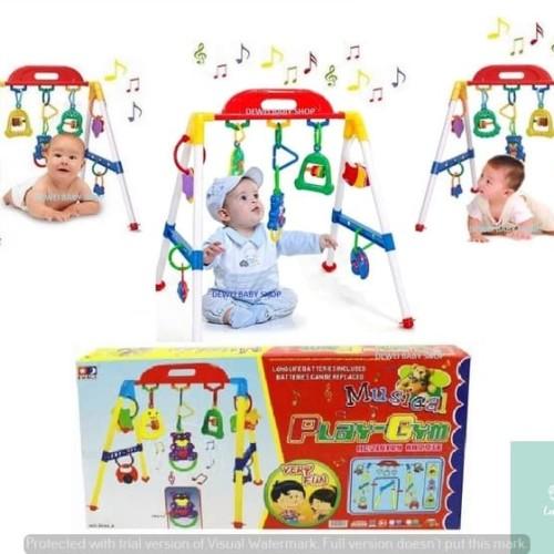 Foto Produk Lumi Toys Mainan Edukasi Belanja Bayi Baby Kado Musical Music Play Gym dari Lumi Toys