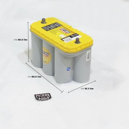 Foto Produk Aki Optima Kuning / Batteries Top Optima Yellow D31 Original USA dari PIONIR JEEP