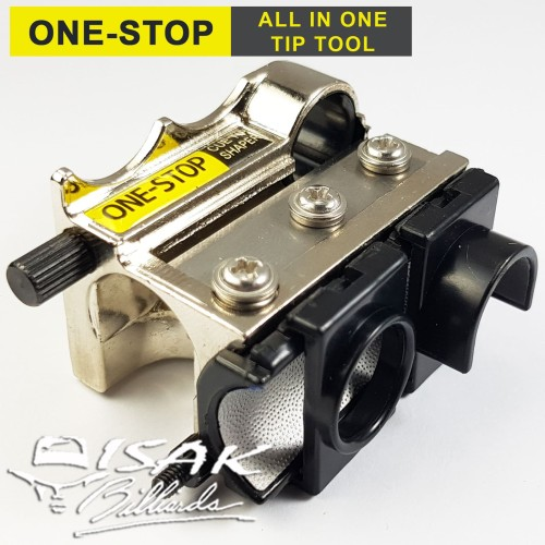 Foto Produk One-Stop Cue Tip Shaper - All in 1 Repair Tool Alat Stick Billiard Ori dari ISAK Billiard Sport Co.