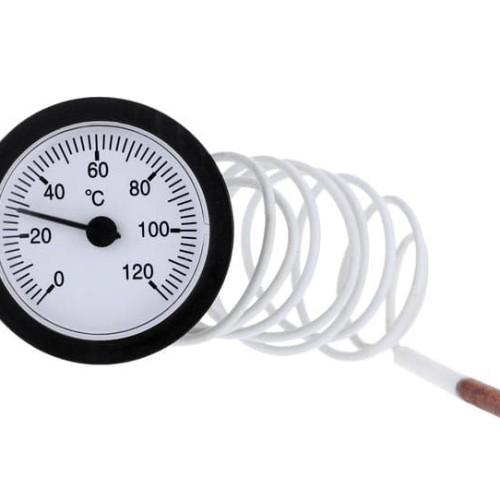 Foto Produk Capillary Thermometer Water Dial Temperature Gauge Termometer Kapiler dari HRDIK