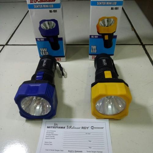Foto Produk Senter Tangan Rolinson LED RL191 Flashlight dari lakshmi