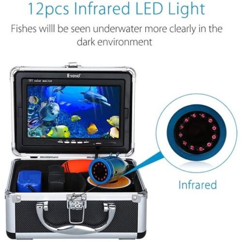 """Foto Produk Underwater Camera Fish Finder 7"""" Display Eyoyo Locator Pelacak Ikan dari HRDIK"""