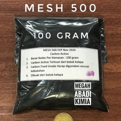 Foto Produk Carbon Active / karbon aktif / Activated Charcoal / powder / 100 Gram dari Megah Abadi Chem