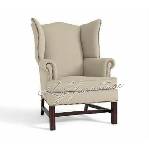Jual Wing Chair Unique Sofa Single Retro Jepara Tahunan Kjf Living Indonesia Tokopedia