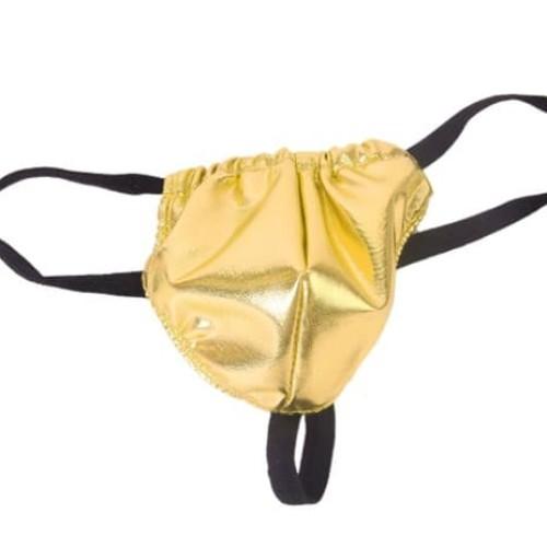 Foto Produk Sexy Lingerie for Men (Thong) / Celana Dalam Pria Gold dari Mooi Lashes