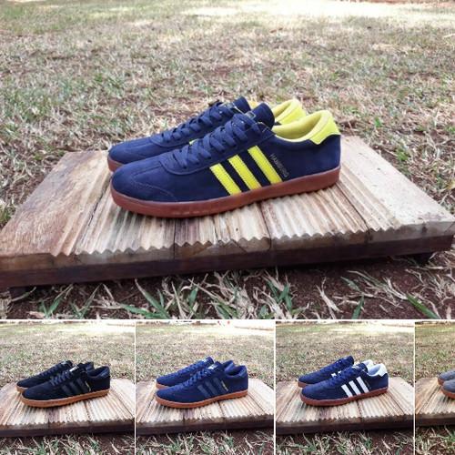 Foto Produk Sepatu Sneakers Adidas Hamburg Premium Original dari ridoshop9