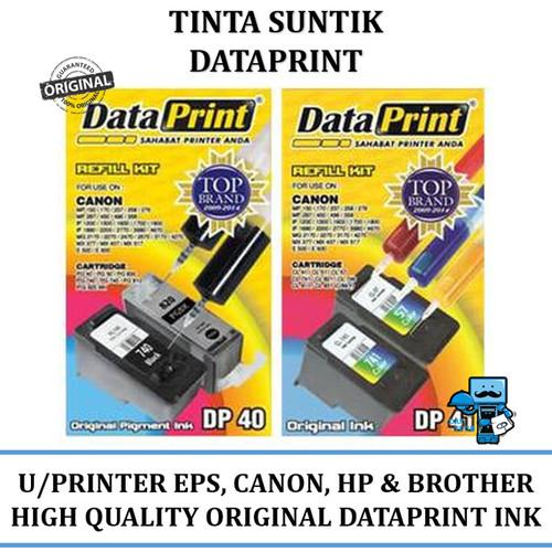 Foto Produk Tinta Suntik Data Print Black dan Colour untuk semua Merk - Canon, dll dari das technology