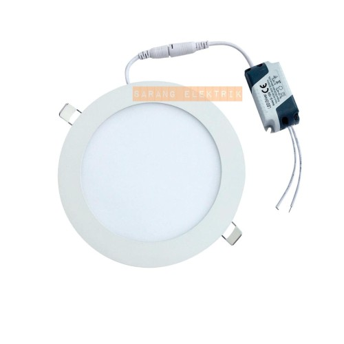 Foto Produk LED downlight panel 12w inbow - Bulat White dari GrosirAksesorisFashion
