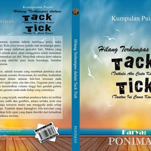 Foto Produk Buku Kumpulan Puisi Hilang Terhempas dalam Tack Tick dari IMANTIA STORE