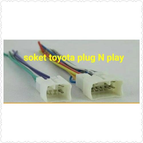Foto Produk socket-soket head unit double din toyota dari jus variasi