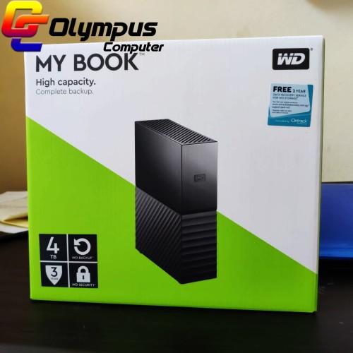 "Foto Produk WD My Book 4TB - HDD / HD / Hardisk Eksternal / External 3.5"" USB 3.0 dari OLYMPUS COMPUTER"