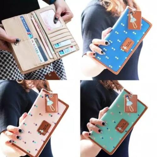 Jual Dompet Panjang Imut Elegan Tersedia Beberapa Warna Lembang Aesthetic Store Tokopedia