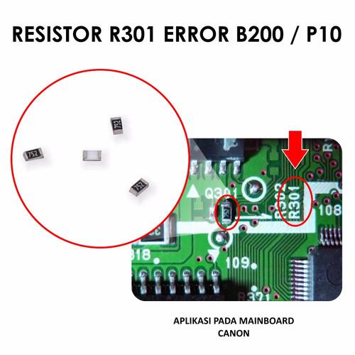 Jual Fast Print Resistor Original R301 Eror B200 P10 Printer Canon Mp258 Kota Surabaya Fast Print Indonesia Tokopedia