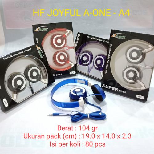 Foto Produk Handfree / Handsfree / Earphone / Headset Bando Joyful A4 dari juragan kado