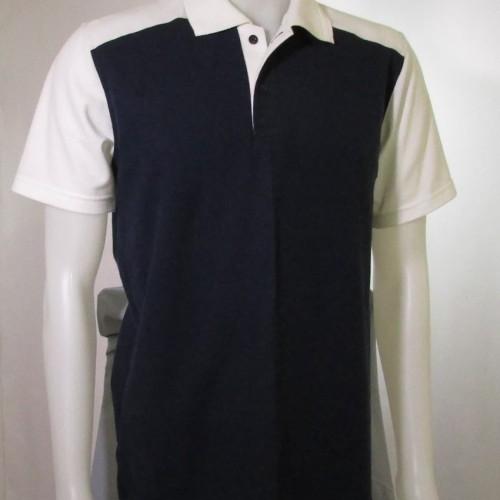 Foto Produk Polo Shirt Exclusive Navy White dari Raja Polo Shirt