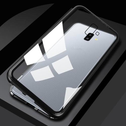 Foto Produk Samsung J6 PLUS Premium 2 in 1 magnetic phone case -Transparant dari importking