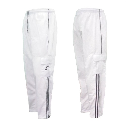 Foto Produk Celana Training Panjang CT 294 Putih Saku 4 Sports Pria Wanita dari My Sally Food