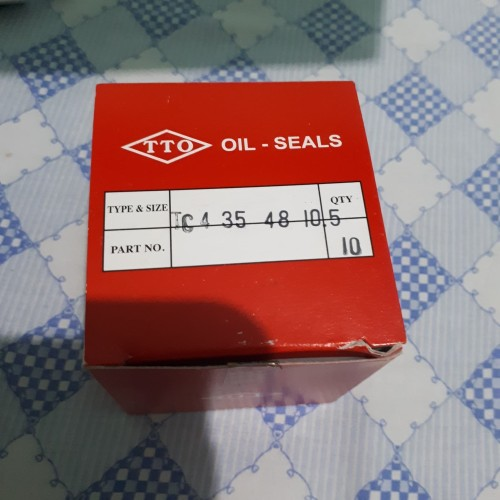 Foto Produk Oil seal TC4 35 x 48 x 10.5 TTO / SPARE PART / INDUSTRI dari raja seal
