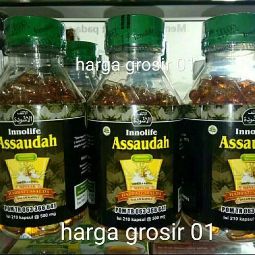 Foto Produk Innolife Assaudah 210 Kapsul Habbatussauda dari harga grosir 01