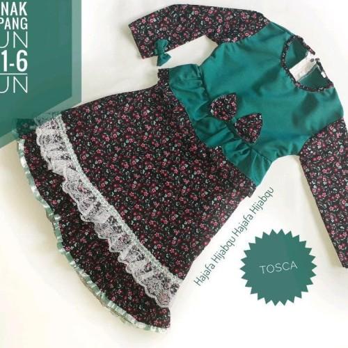 Foto Produk Baju Anak Gamis Syari Set Katun Jepang dari Franziska