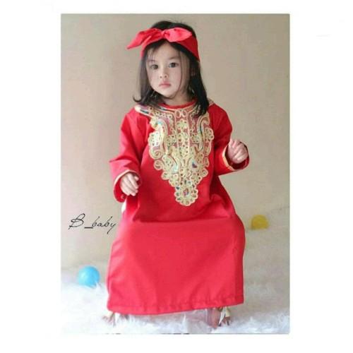Foto Produk Kaftan Anak - Baju Muslim Anak - Kaftan Queen - Size S - dari Franziska