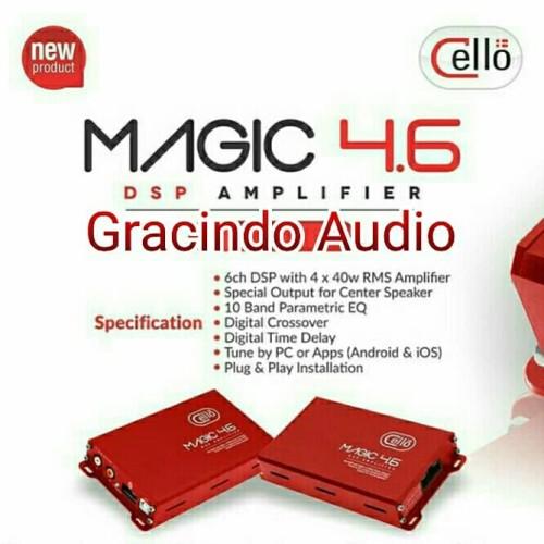 Foto Produk Power DSP Amplifier Cello Magic 4.6 dari Gracindo Audio