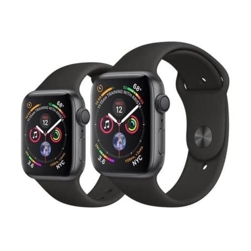 Foto Produk APPLE Watch Series 4 GPS Black Sport Loop / Band Aluminium Case 44MM dari Global Persada System