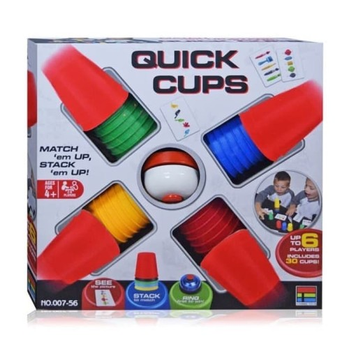 Foto Produk Board Game Quick Cups/ Mainan Quick Cups dari New Generation