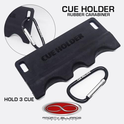 Foto Produk RUBBER CUE HOLDER FOR 3 CUE dari Amorty Billiards