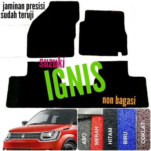 Foto Produk Karpet Mie Bihun Mobil Suzuki Ignis tanpa bagasi dari SMR Karpet Mobil Jogja