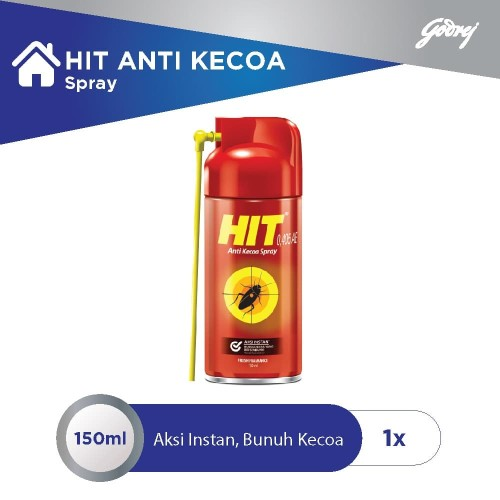 Foto Produk HIT Aerosol Anti Kecoa Spray Botol 150 ml dari Godrej Indonesia Store