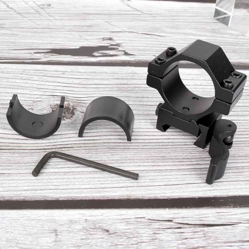 Foto Produk MOUNTING TACTICAL QUICK RELEASE MOUNT + ADAPTER RING 25mm SCOPE dari DO OFFICIAL STORE